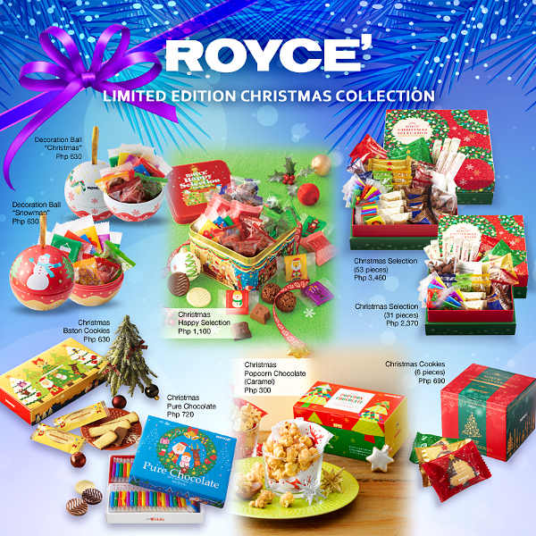 Royce Chocolates Christmas Special 2016