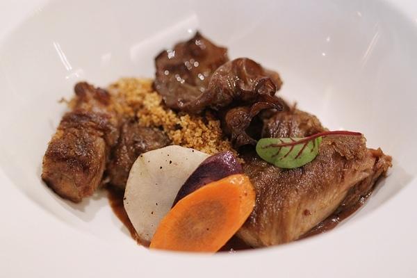 Food by Chef Davide Oldani