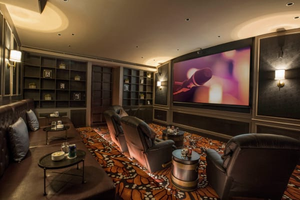 Makati Diamond Residences Private Cinema