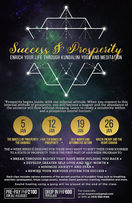 Success & Prosperity Poster