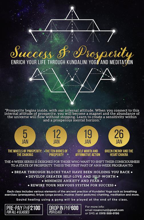 Success & Prosperity Poster