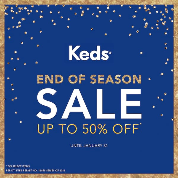 Keds Start the Year Right with a Big