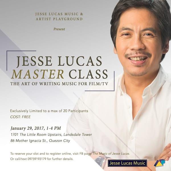 Jesse Lucas MasterClass