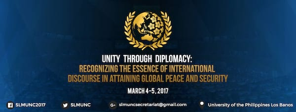 Be Part of the Southern Luzon Model United Nations