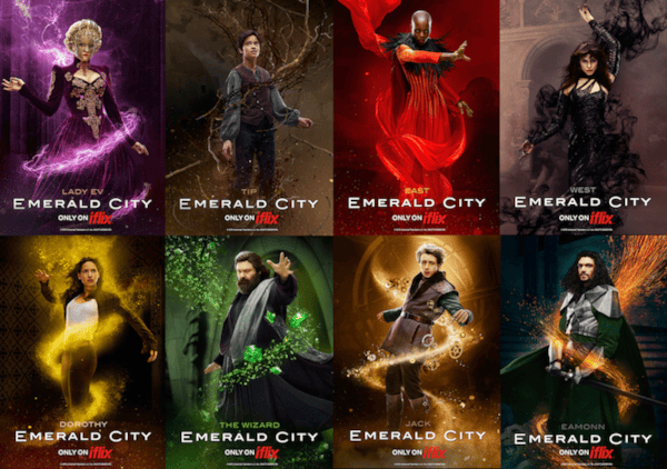 Emerald City Character Poster