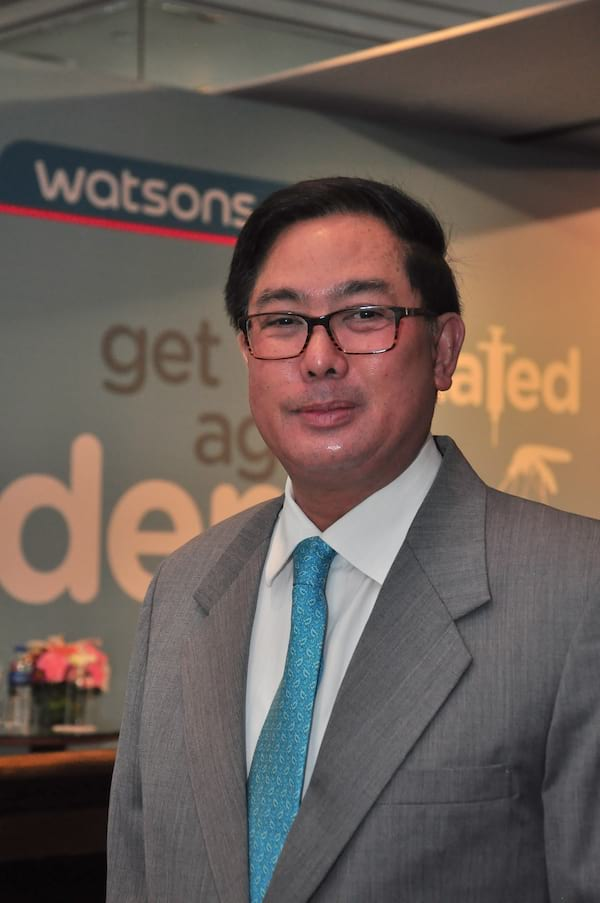 WATSONS TO OFFER DENGUE VACCINATION