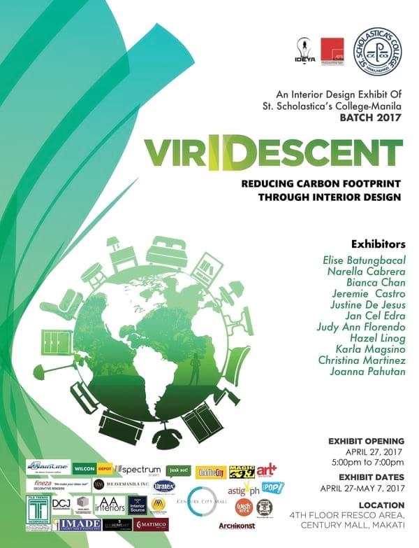 VirIDescent: Reducing Carbon Footprint through Interior Design