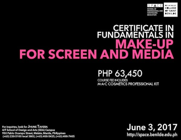 Comprehensive Meakeup Certification Seminar in Manila | ClickTheCity
