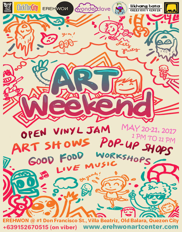 ART WEEKEND at Erehwon