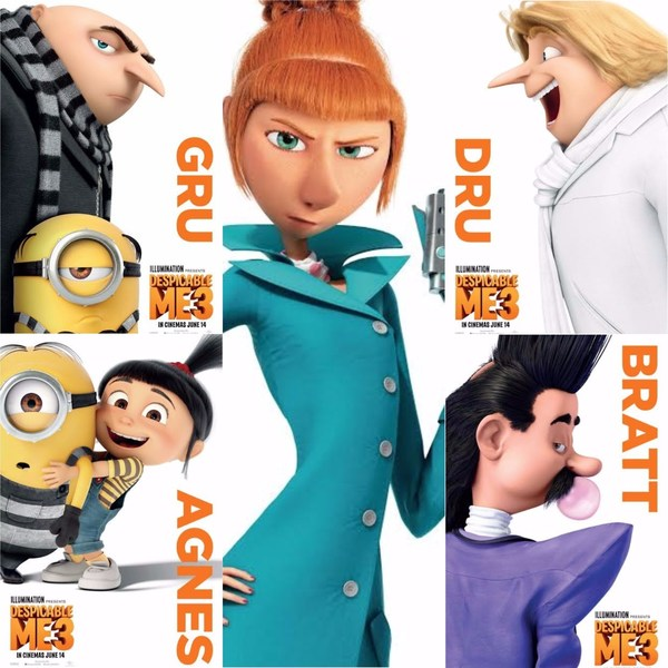 despicable me 3 characters amplify their lovable nature