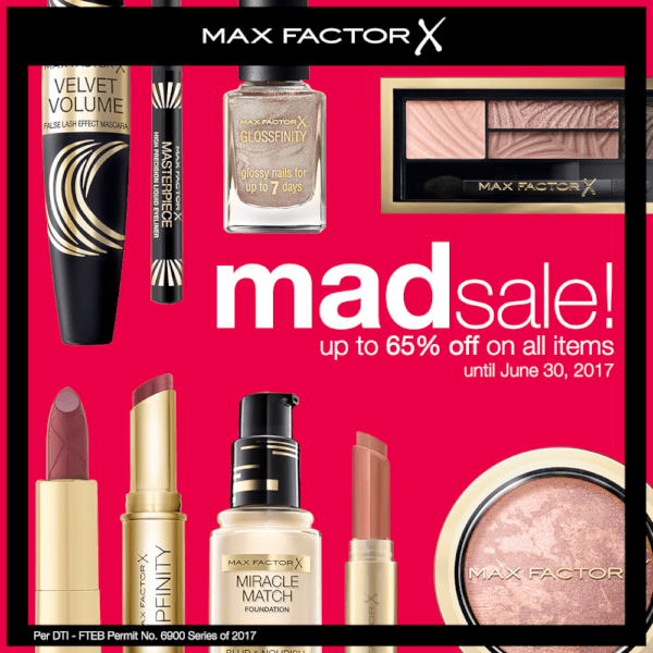 Max factor Mad Sale