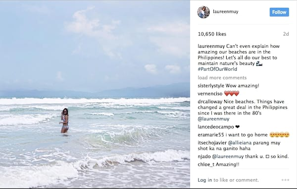 Laureen Uy for Part of Our World: A Marine Conservation Campaign
