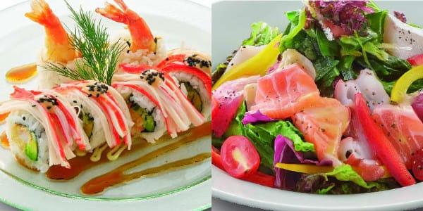 Watami Salad and Rolls