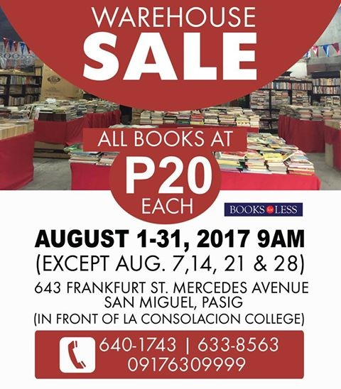 Books For Less Warehouse Sale