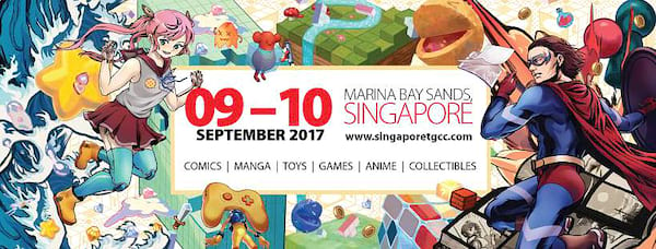 Singapore Toy, Game & Comic Convention (STGCC)