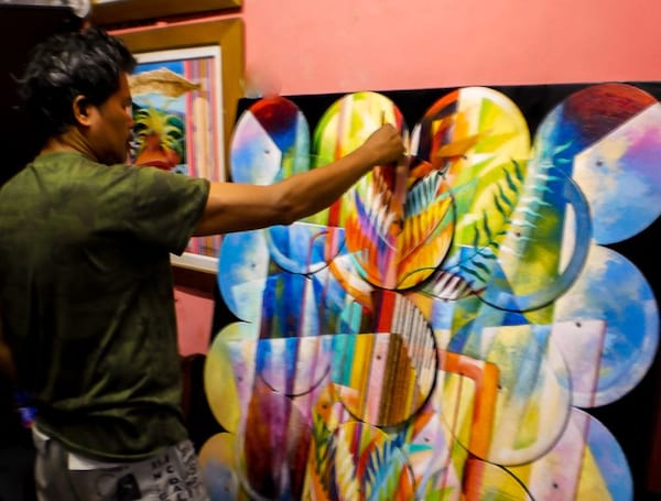 Noli Espanola painting