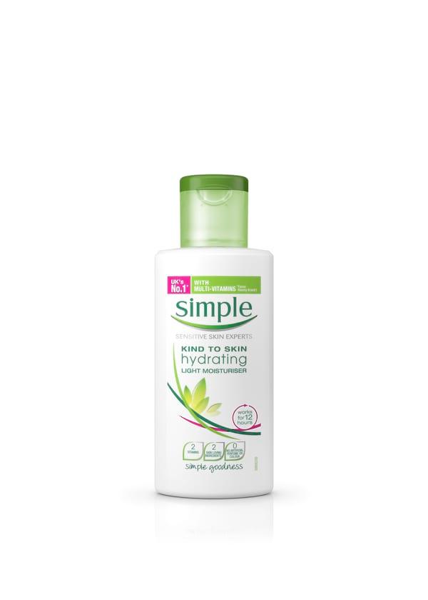 Simple Hydrating Light moisturizer
