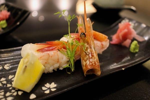 Ogetsu Hime Amaebi Sushi