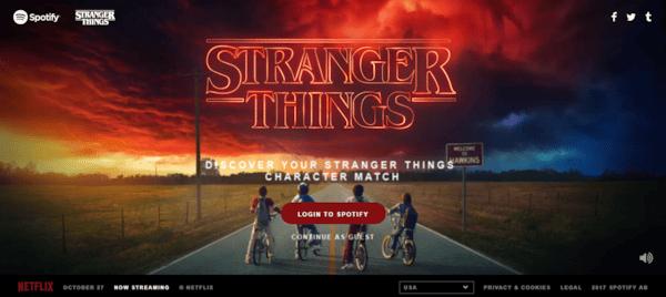 Stranger Things 2 Playlist