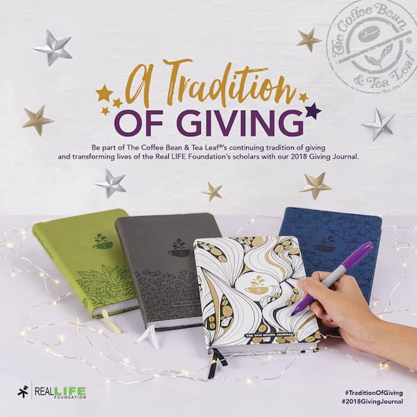 Coffee Bean The Giving Planner