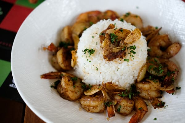 Creole Garlic Shrimp