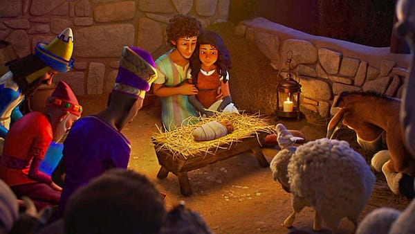 The First Christmas.The Star The First Christmas Through Eyes Of Manger