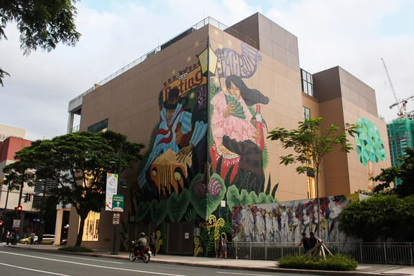 In photos 6 new murals in bgc and where to find them for Bonifacio mural