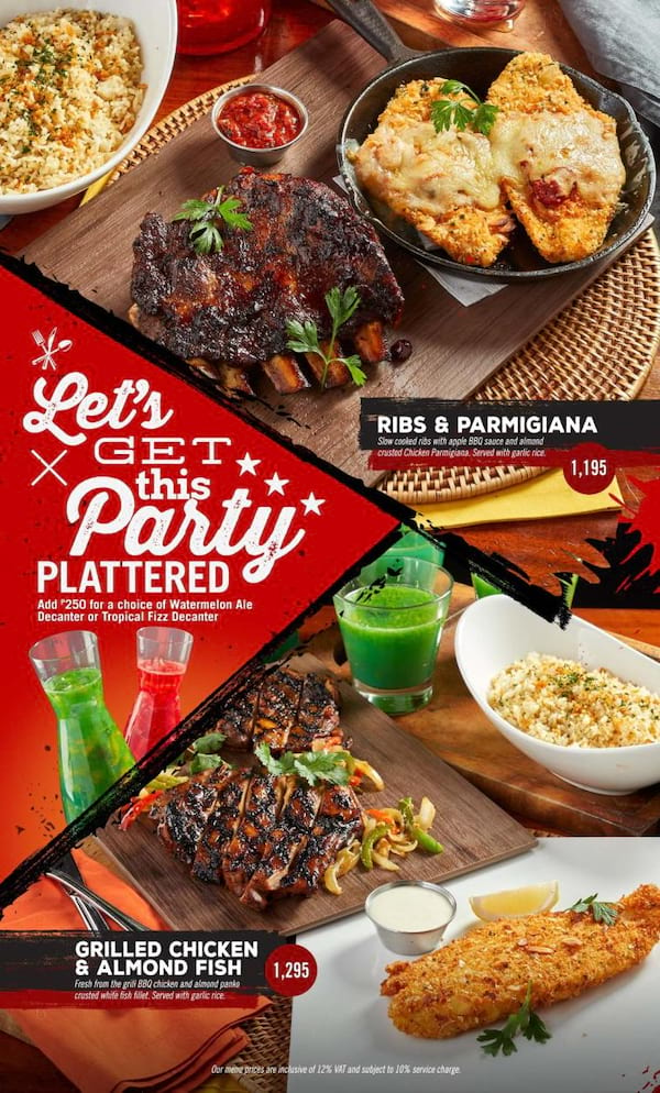 get the party started with tgi fridays new bundles nov 28 2017 818 am