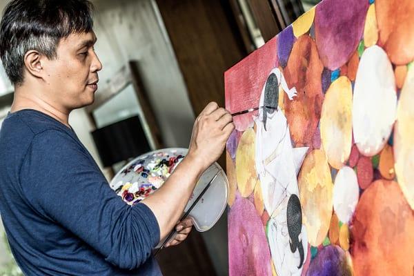 Noel Mahilum Artworks for Pan de Manila