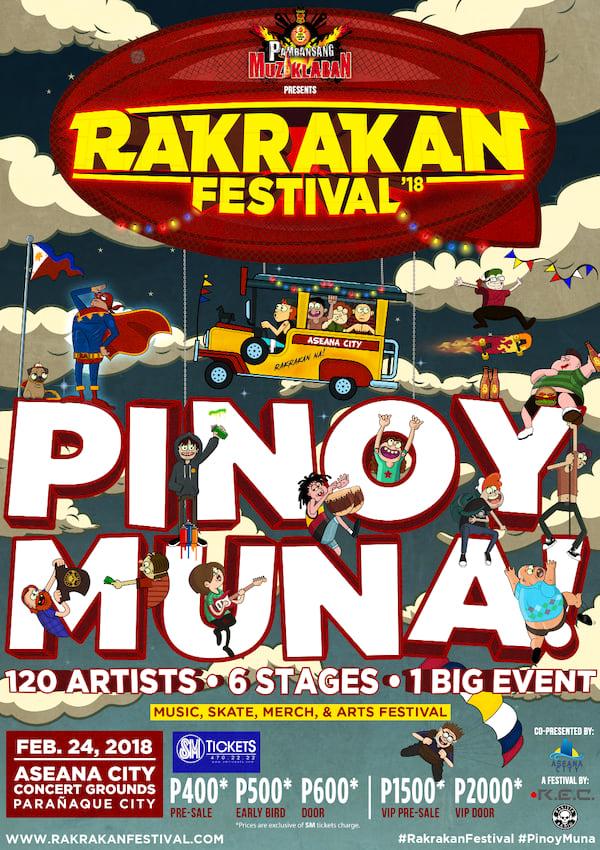Rakrakan Festival: Pinoy Muna