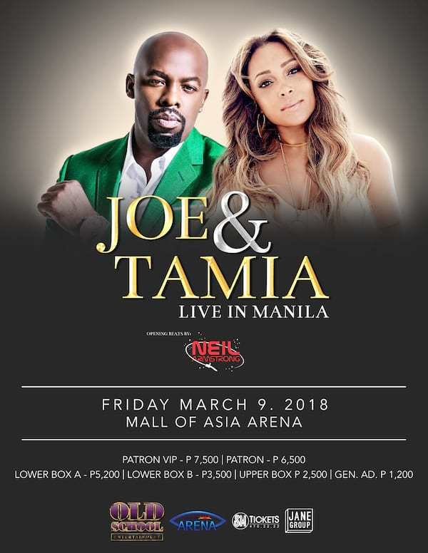 Joe & Tamia Live in Manila