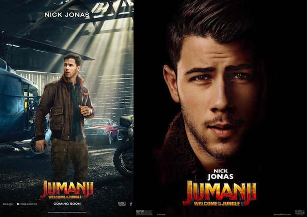 Nick jonas a mysterious gamer in jumanji welcome to the jungle the action adventure tells of four unlikely friends who are sucked into the world of jumanji when they discover an old video game console with a game stopboris Gallery