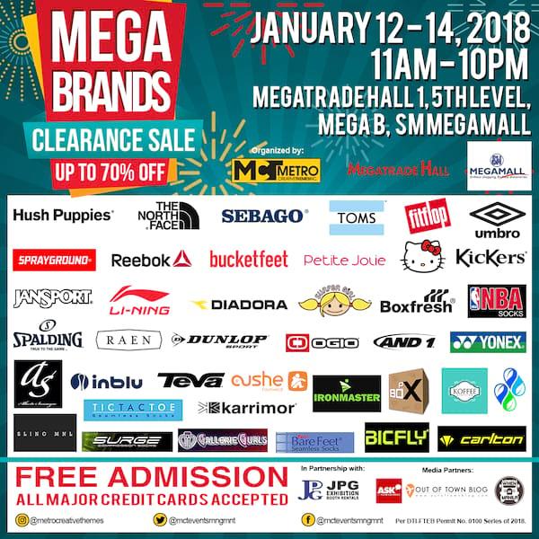 Mega Brand Sale