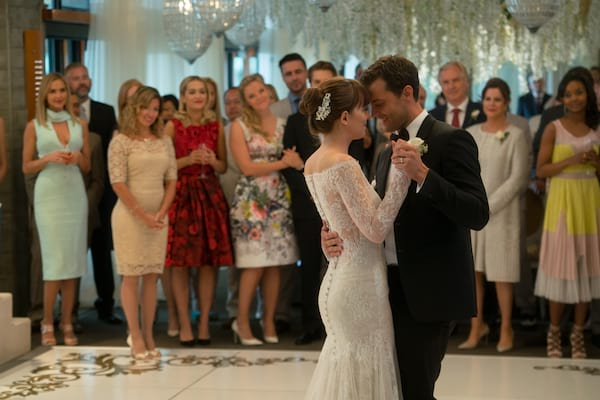 To Design An Iconic Wedding Dress For The Character Of Steele For This Climactic Chapter Of The Fifty Shades Of Grey Series Said Monique