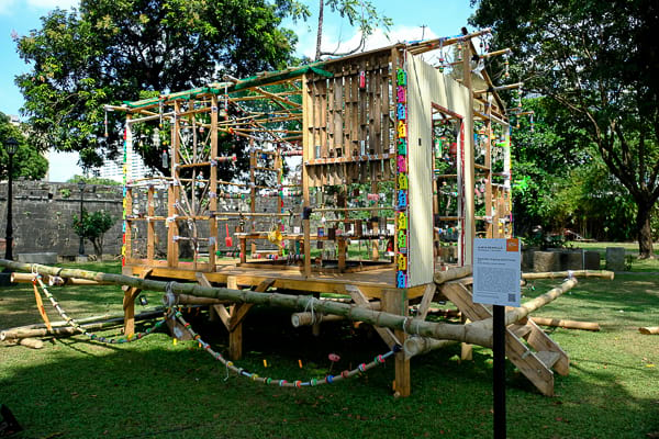 Alwin Reamillo's Bayanihan Hopping Spirit House