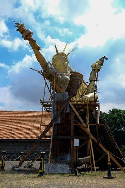 Kawayan De Guia'sLady Liberty