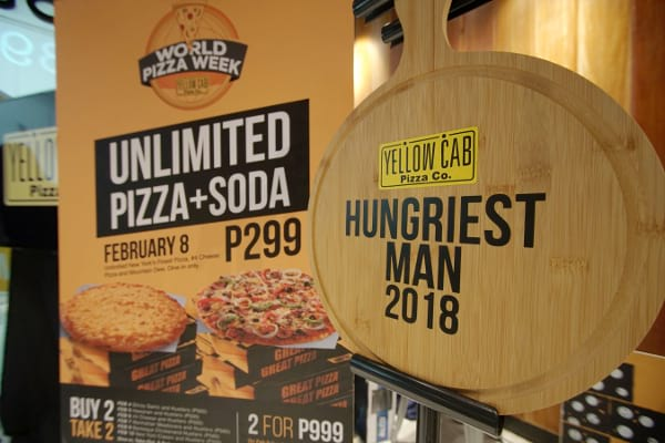 Yellow Cab Unlipizza