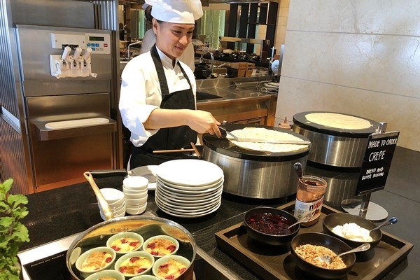 The Grand Kitchen Buffet Grand Hyatt Manila