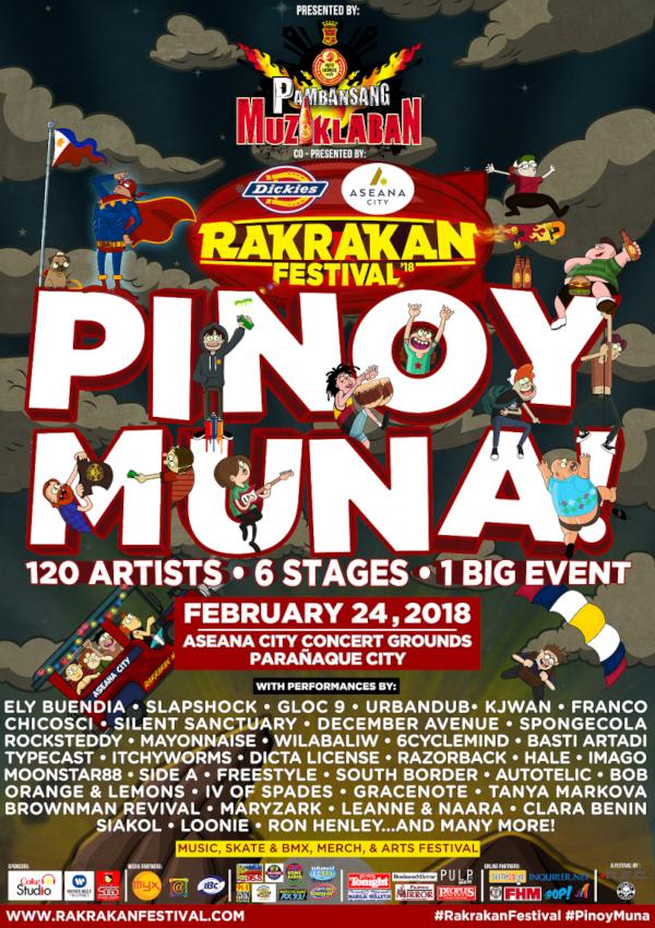 Rakrakan Festival Poster