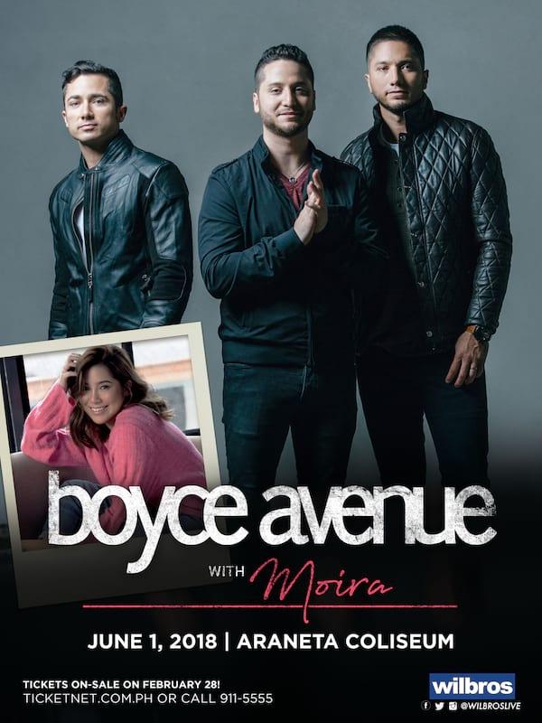Boyce Avenue with Moira