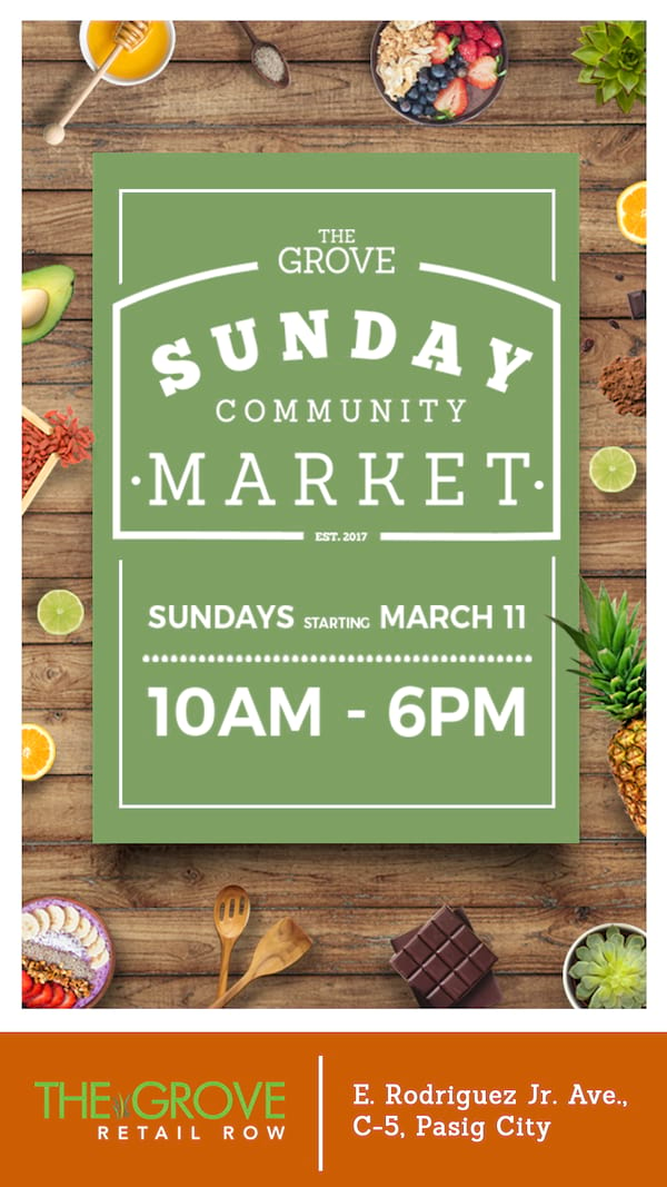 The Grove Sunday Market