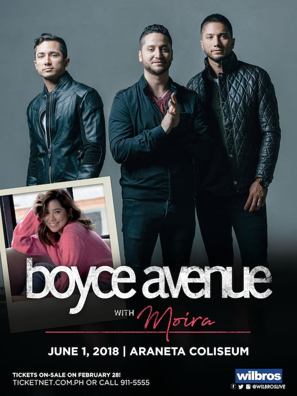 Boyce Avenue with Moira