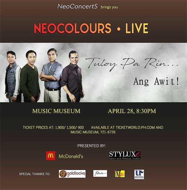 Neocolours Live