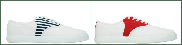 Lacoste Canvas Tennis Shoes
