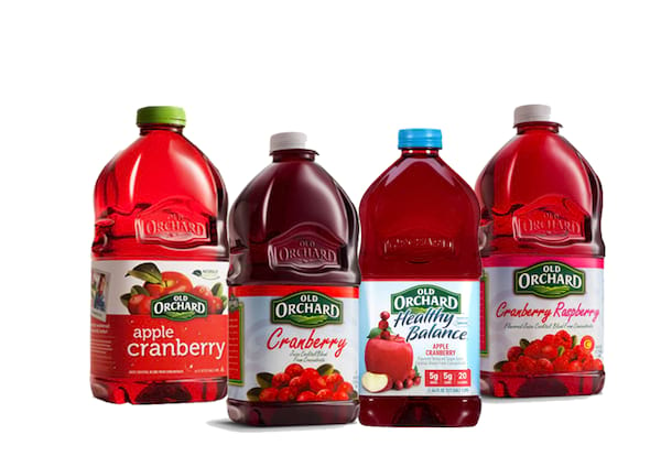 Old Orchard Cranberry Juice