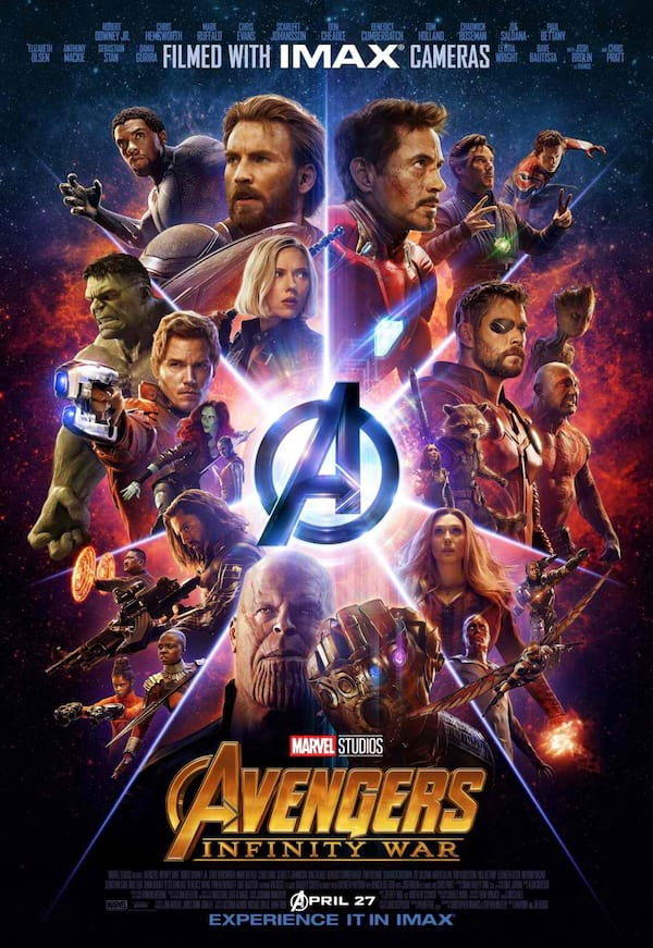 Avengers: Infinity War | ClickTheCity Movies