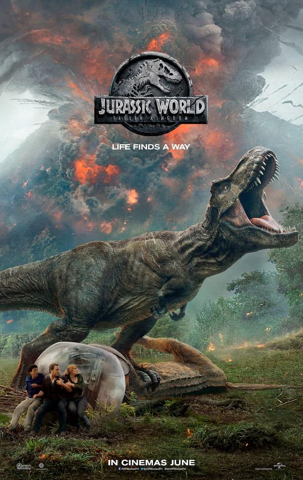 Jurassic World: Fallen Kingdom | ClickTheCity Movies