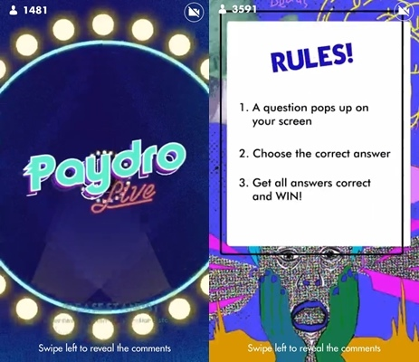 Love Trivia Games? Try Your Luck with Local App 'Paydro Live' and