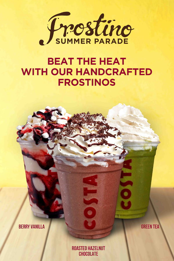 Costa Coffee Frostino