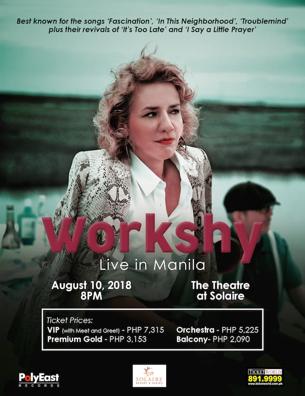 Workshy Live in Manila